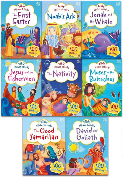 Bible Sticker Book 8 Pack