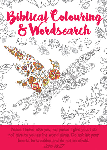 Biblical Colouring and Wordsearch Book: Bird