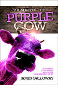 The Spirit Of The Purple Cow Paperback Book - James Galloway - Re-vived.com