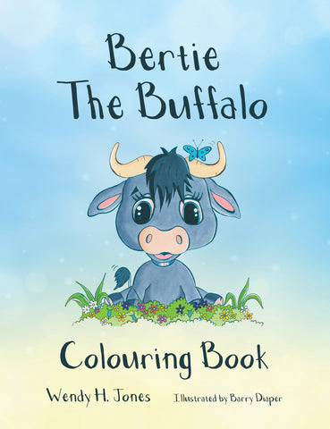 Bertie the Buffalo Colouring Book