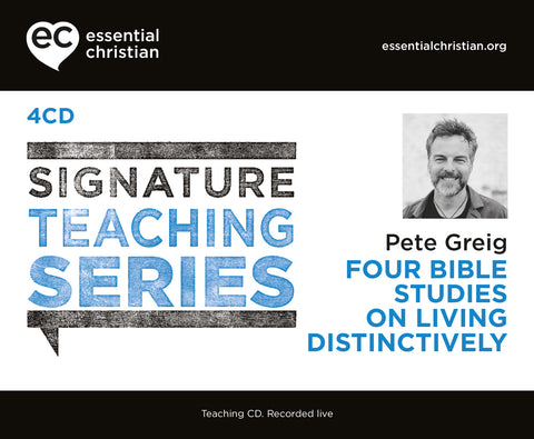 Living Distinctively: Signature Teaching Series 4 Talk Audio CD Pack
