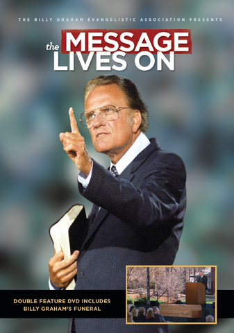 The Message Lives On DVD