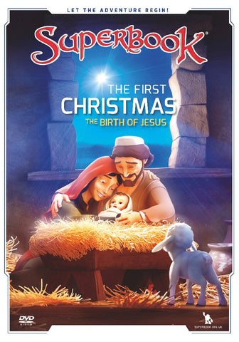 Superbook - The First Christmas: DVD