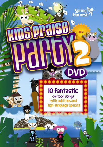 Kids Praise Party 2 DVD - Elevation - Re-vived.com