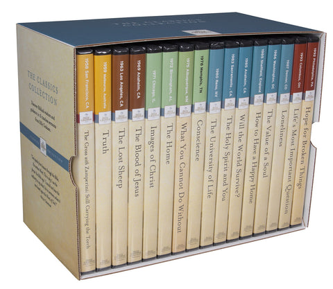 Billy Graham Classic Collection Box Set (16 DVDs)