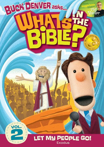 What's In The Bible Vol. 2: Let My People Go! DVD - Phil Vischer - Re-vived.com