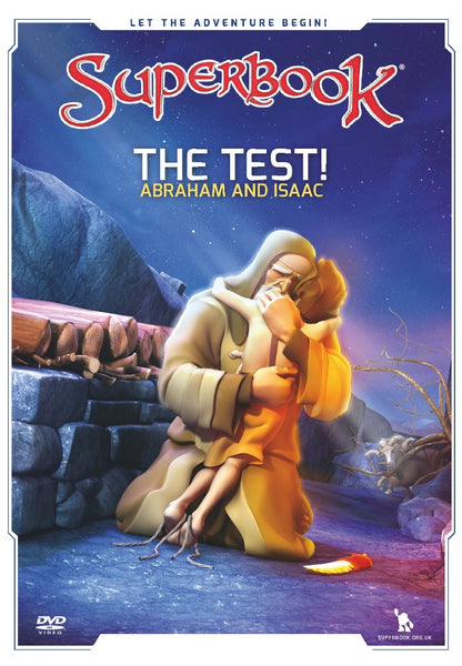 Superbook: The Test DVD