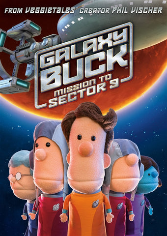 Galaxy Buck: Mission To Sector 9 DVD - Phil Vischer - Re-vived.com