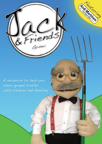 Jack & Friends: Grow DVD - Jack & Friends - Re-vived.com