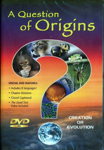 A QUESTION OF ORIGINS DVD - Timeless International Christian Media - Re-vived.com
