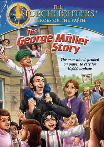 Torchlighters: The George Muller Story DVD