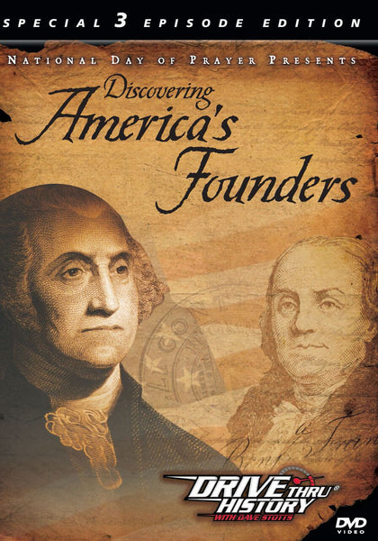 Discovering America's Founders DVD - Various Artists - Re-vived.com