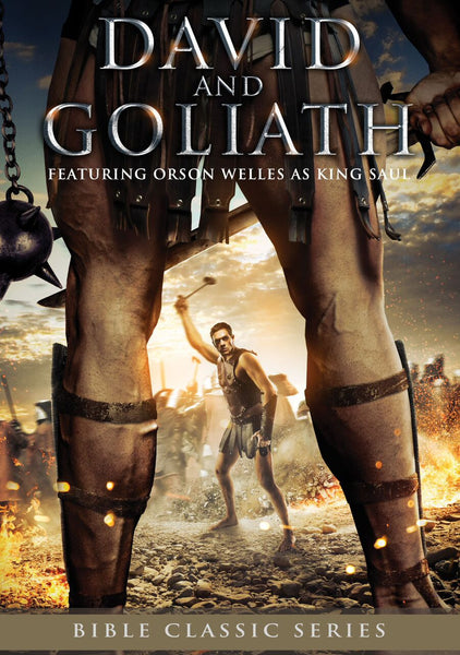 David And Goliath - Bible Classics DVD - Various Artists - Re-vived.com