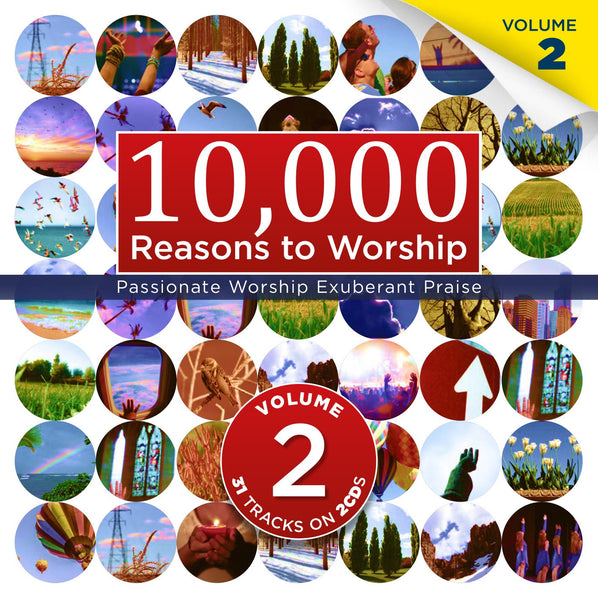 10,000 Reasons To Worship Vol.2 - Various Artists - Re-vived.com