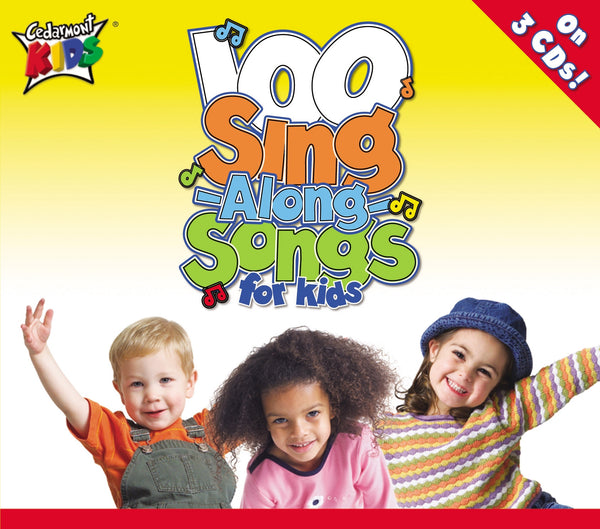 100 Singalong Songs For Kids CD Box Set - Cedarmont Kids - Re-vived.com