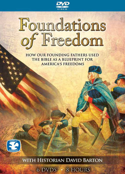 Foundations of Freedom with Historian David Barton - 6 DVD Set (18 - 27 minutes episodes) - Various Artists - Re-vived.com