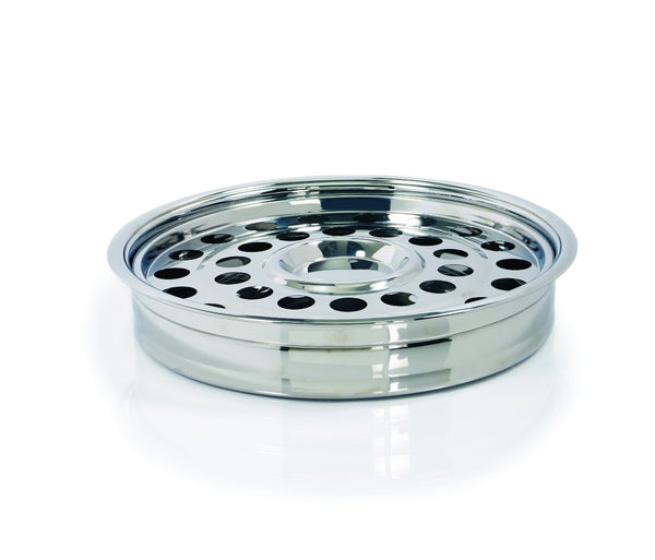 Silver One-Pass Communion Tray and Disc