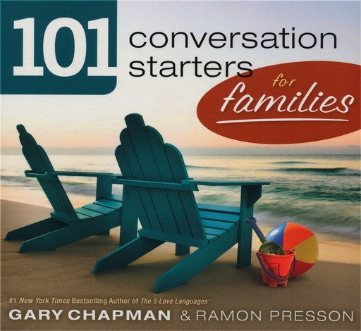 101 Conversations Starters For Families Paperback - Gary Chapman - Re-vived.com