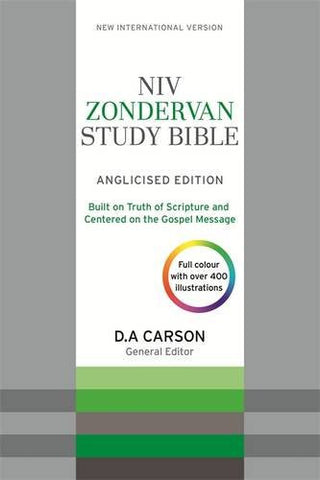NIV Zondervan Study Bible (Anglicised)