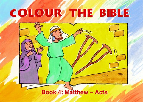 Colour The Bible: Matthew – Acts