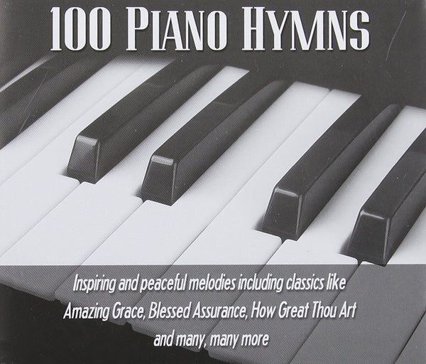 100 Piano Hymns 3CD