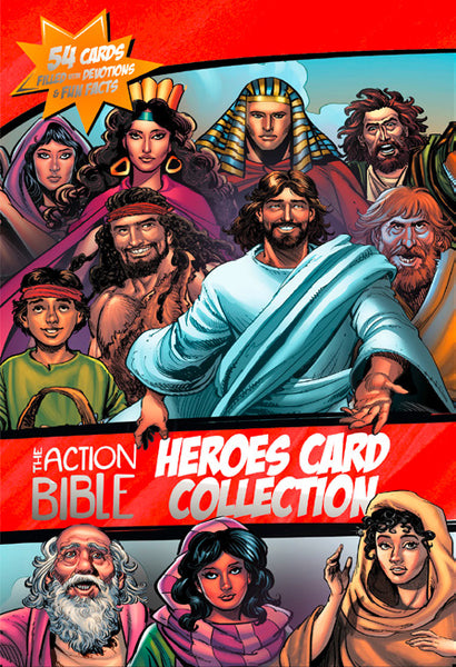 The Action Bible: Heroes Card Collection