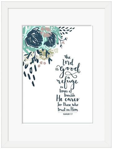 The Lord is good - 6x4 Framed Print
