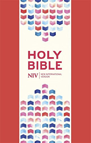 NIV Thinline Coral Pink Soft-tone Bible with