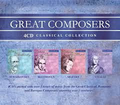 Great Composers 4CD Set - Various Artists - Re-vived.com