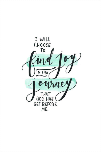 I will choose to find joy (new 2017) - Mini Card