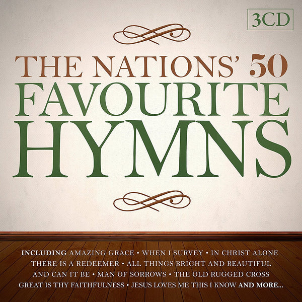 The Nations' 50 Favourite Hymns 3CD