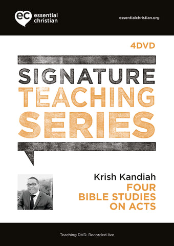 Acts: Signature Teaching Series 4 Talk Audio DVD
