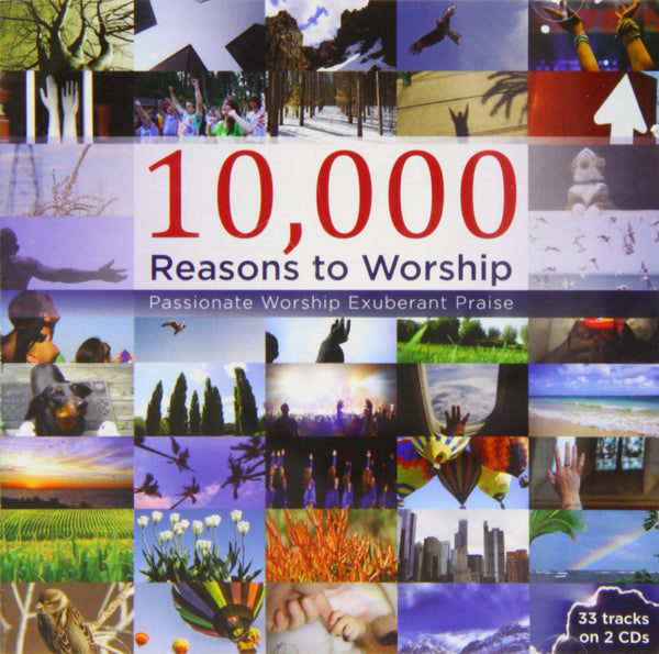 10,000 Reasons To Worship 2CD - Various Artists - Re-vived.com