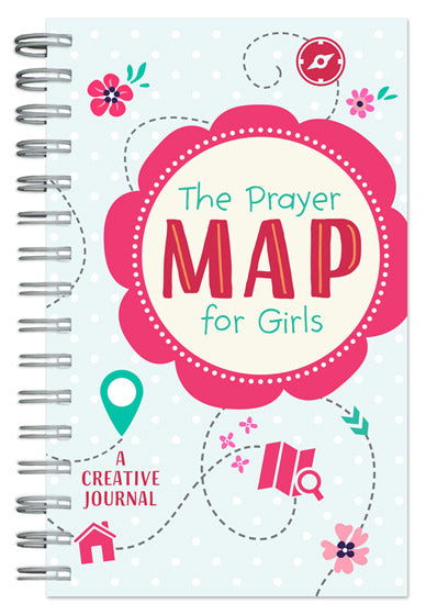 The Prayer Map for Girls Journal