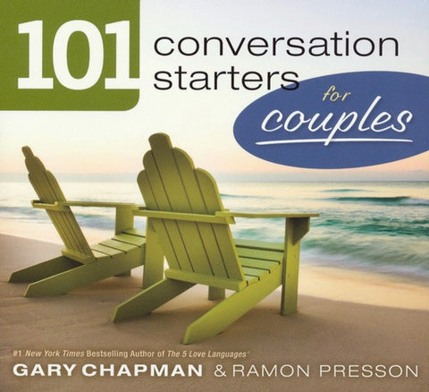 101 Conversation Starters For Couples Paperback Book - Gary Chapman - Re-vived.com