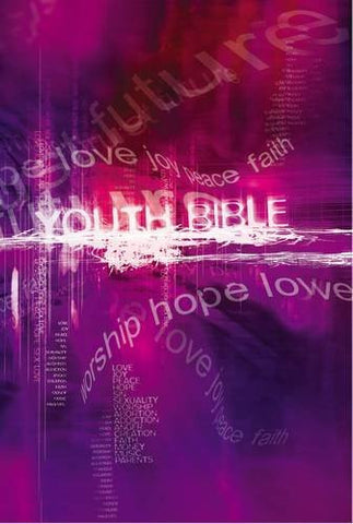 NCV Youth Bible Purple Hardback - Various Authors - Re-vived.com