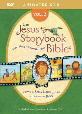 Jesus Storybook Bible Animated Volume 3 DVD - Lloyd-Jones, Sally - Re-vived.com