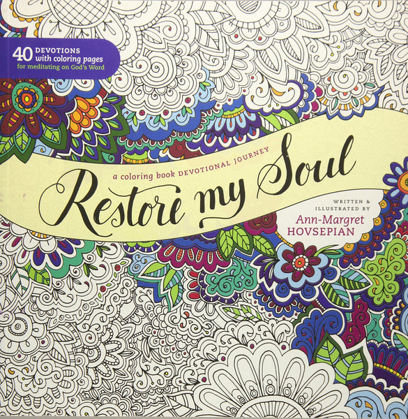 Restore My Soul Colouring Book