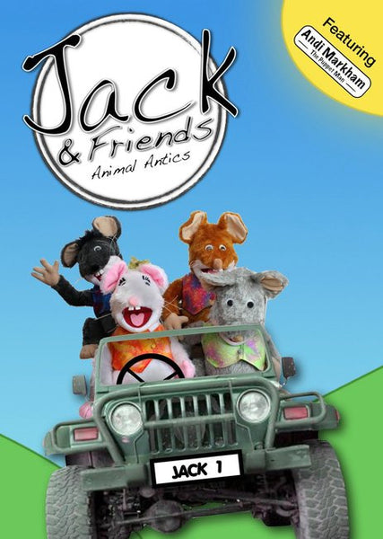 Jack & Friends: Animal Antics DVD - Jack & Friends - Re-vived.com
