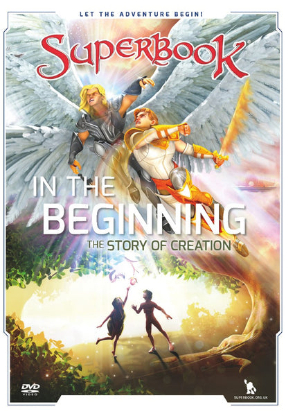 Superbook: In the Beginning DVD