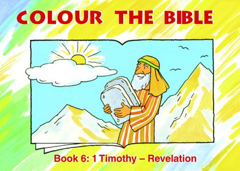 Colour The Bible: 1 Timothy – Revelation