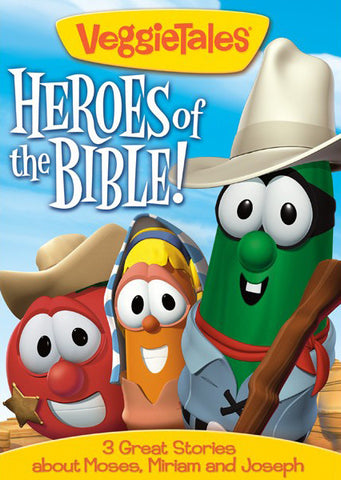 VeggieTales: Heroes Of The Bible Vol.3 DVD - VeggieTales - Re-vived.com