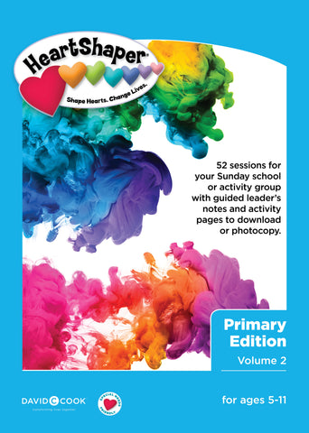 HeartShaper Curriculum - Primary Edition Vol.2 for Ages 5-11