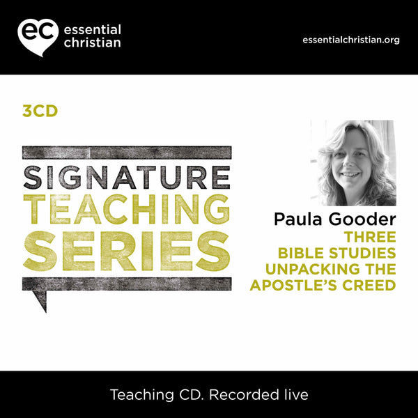 Apostle's Creed: Signature Teaching Series 3 Talk Audio CD Pack