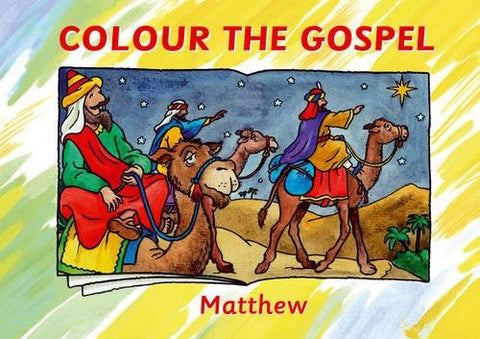 Colour The Gospel - Matthew
