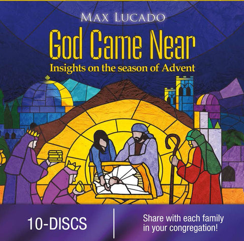 God Came Near - Max Lucado DVD (1 DVD Church Version - Sold in Packs of 10 Only) - Various Artists - Re-vived.com