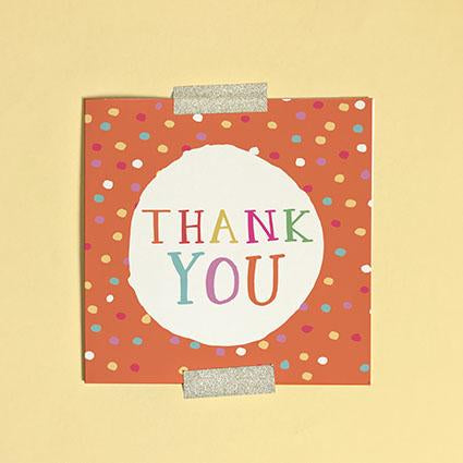 Thank You Greeting Card & Envelope