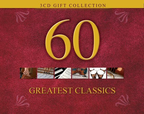 60 GREATEST CLASSICS 3CD - Classic Fox Records - Re-vived.com