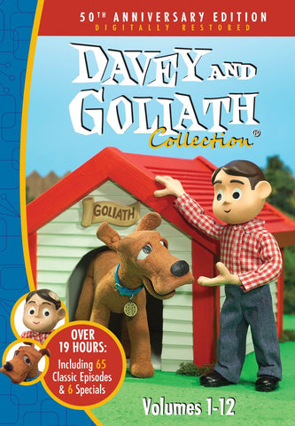 Davey & Goliath - 12 Set DVD (all 12 Volumes) - Various Artists - Re-vived.com