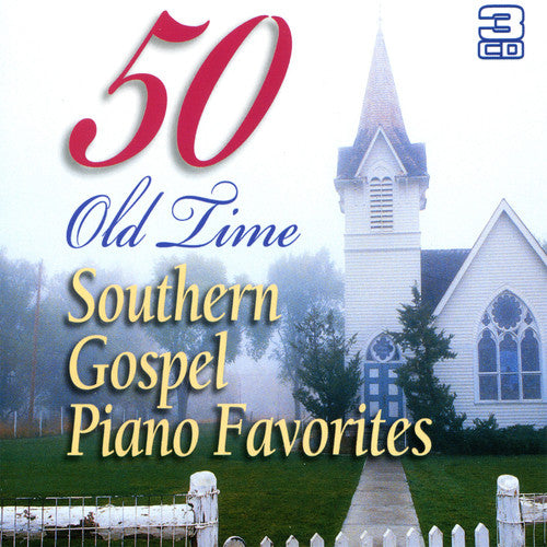 50 OLD TIME SOUTHERN GOSPEL PIANO FAVOURITES 3CD - Classic Fox Records - Re-vived.com